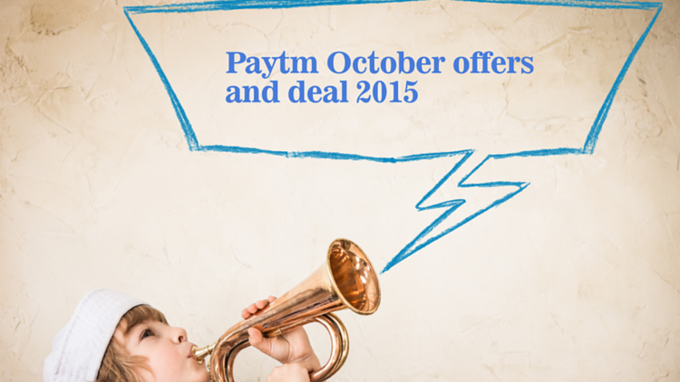 Paytm october offer zone-2015
